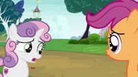 Sweetie Belle -it's an awfully big puppy- S7E6