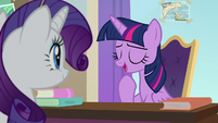 "Twilight ""not sure I'll ever get used to it"" S8E16"