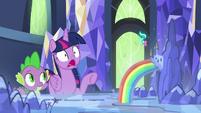 Twilight Sparkle in complete shock S7E10