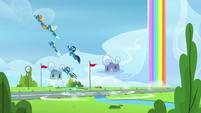 Wonderbolts create a boom of thunder S7E7