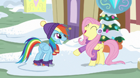 """Fluttershy answers """"everything!"""" MLPBGE"""