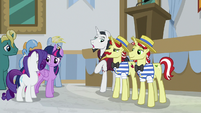 "Neighsay ""albeit an unaccredited one"" S8E16"