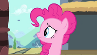 Pinkie Pie looks behind S4E11