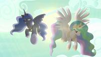 "Princess Luna ""take care of the beast!"" S9E13"