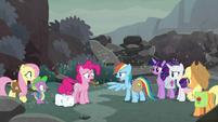 Rainbow Dash -we don't need magic- S8E25