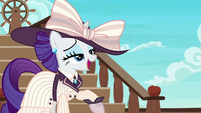 Rarity says --darling-- over and over S6E22