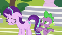 """Spike """"probably made things worse"""" S8E15"""