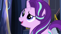 Starlight about to address Rainbow Dash S6E21