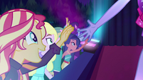Sunset Shimmer reaching out to K-Lo EGSBP