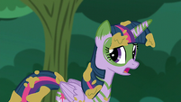 Twilight --But this is the second time I've come back-- S5E26