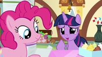 """Twilight Sparkle """"the salespony at the toy store"""" S7E3"""
