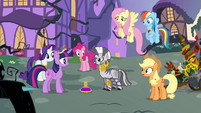 Zecora -it only responds to Alicorn magic- S4E01