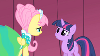 Fluttershy and Twilight backstage 2 S1E20