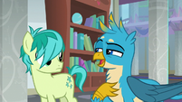"Gallus ""are we not being sweet and friendly"" S8E1"