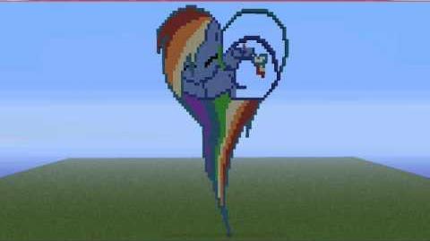 My Little Pony Pixel Art Pony Hearts