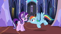 "Rainbow Dash ""do some location scouting"" S6E21"