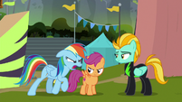 Rainbow Dash -you're comin' with me!- S8E20
