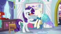 "Rarity ""I'd love to see her reaction"" S5E14"