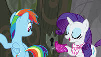 """Rarity """"perhaps the key is right here!"""" S8E17"""