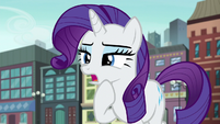 """Rarity """"without ruining the surprise"""" S6E3"""