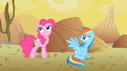 S01E21 Pinkie i Rainbow Dash