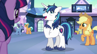 """Shining Armor tired """"here I am"""" S6E1"""