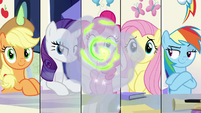 Something materializes in Spike's fire breath S9E4