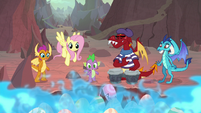 Spike and friends see eggs start to crack S9E9