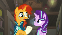 "Sunburst ""you don't have to pretend"" S7E24"