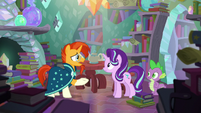 Sunburst --you could have helped me at magic school-- S6E2