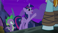 """Twilight """"official keeper of tales!"""" S8E21"""
