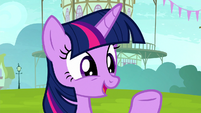 Twilight -great that you're learning a new skill- S8E18