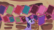 Twilight Sparkle reshelf books 4 S02E10.png