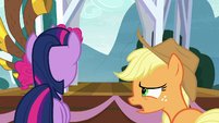 """Applejack """"what is that thing?"""" S8E18"""
