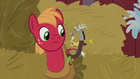 "Discord ""doesn't seem to have appreciated it"" S8E10"