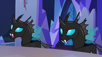 Evil changelings in their normal forms S6E25