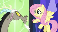 "Fluttershy ""I don't think you're quite there yet"" S4E26"