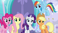 Main four in agreement with Rarity S6E1