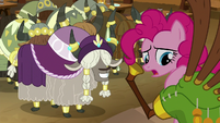 """Pinkie """"even though it wasn't perfect?"""" S8E18"""