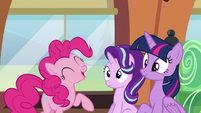 """Pinkie Pie """"even more sparkly and shiny"""" S6E1"""