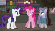 Pinkie Pie grinning happily S6E3