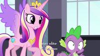"""Princess Cadance """"Spike, we need you!"""""""