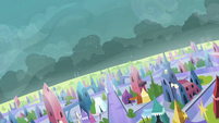 Shadows forming in the sky S3E2