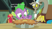 "Spike ""bake the invitation inside"" S8E10"