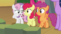 """Sweetie Belle """"rude to ask a question like that!"""" S8E6"""