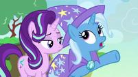 """Trixie """"popping all around Equestria"""" S7E17"""
