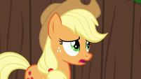 "Applejack ""is somethin' wrong, Apple Bloom?"" S6E14"