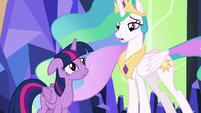 "Celestia ""only you can make that decision"" S7E1"