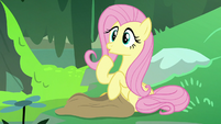Fluttershy realizing she just rhymed S7E20