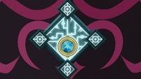 Gates of Tartarus' magic lock glowing S8E25